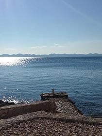 Ždrelac, wyspa Pašman